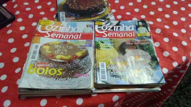 40 revistas de culinária