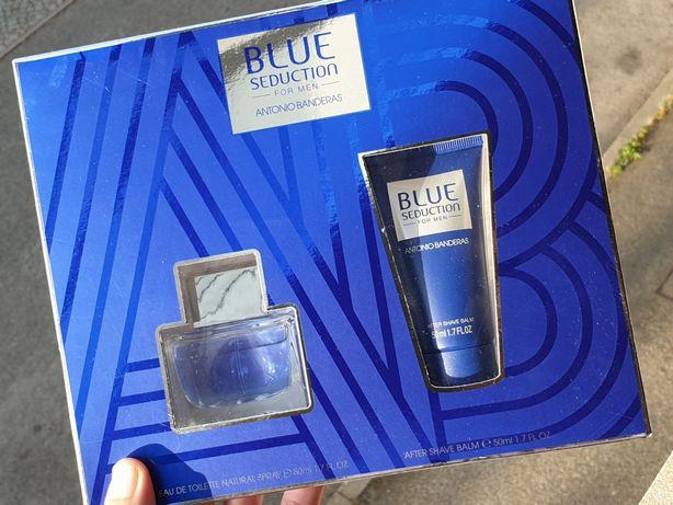António Banderas Blue Seduction coffret homem - perfume e after shave
