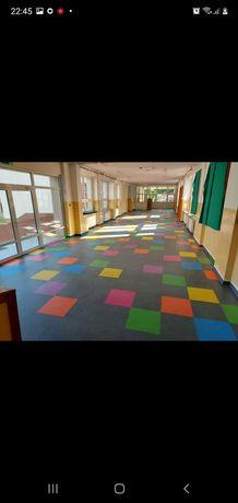 Pavimento para Escolas jardins de infância
