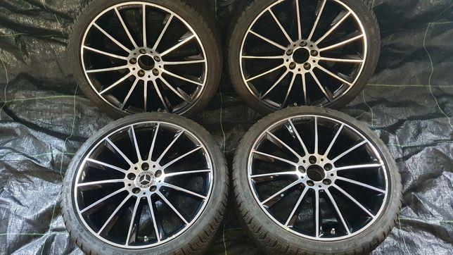 """Oryginalne felgi 20"""" do Mercedesa AMG z oponami zimowymi. Polecam"""