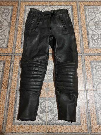 Жіночі шкіряні мотоштани/мото штани