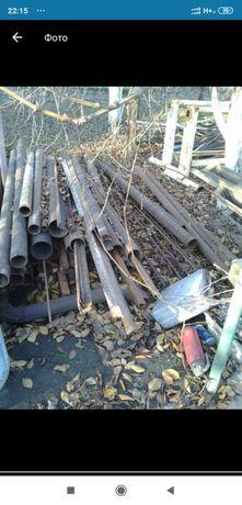 Трубы стальные, уголки швелера