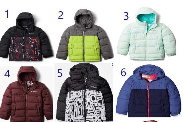 Куртка зимняя, для мальчиков, для девочек, для подростков Columbia