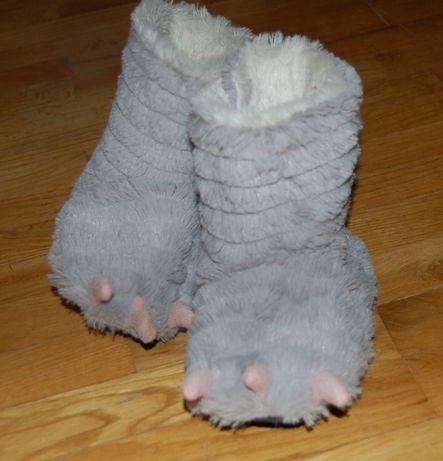 buty smok pantofle
