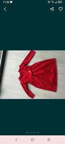 Czerwona sukienka 92
