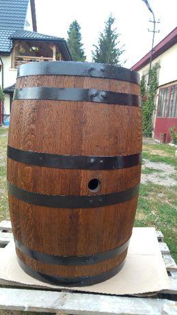 Beczka dębowa 225l po WHISKY American Oak odnowiona szczelna