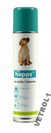 Happs spray od pcheł i kleszczy dla psów 250 ml