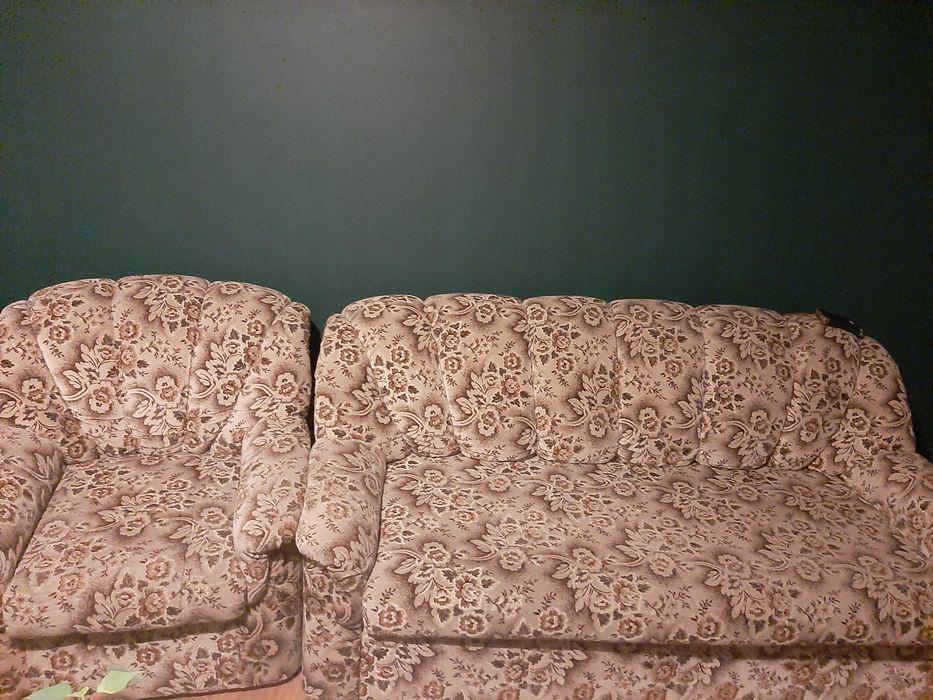 Sprzedam 3-osobową i 2-osobową kanape +2 fotele Kwidzyn - image 1