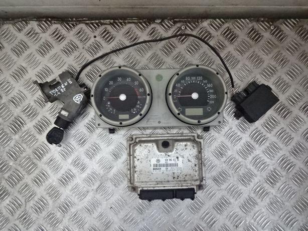 VW Polo 6N2 1.4 8V AKL 99-02 komputer stacyjka licznik immobilizer