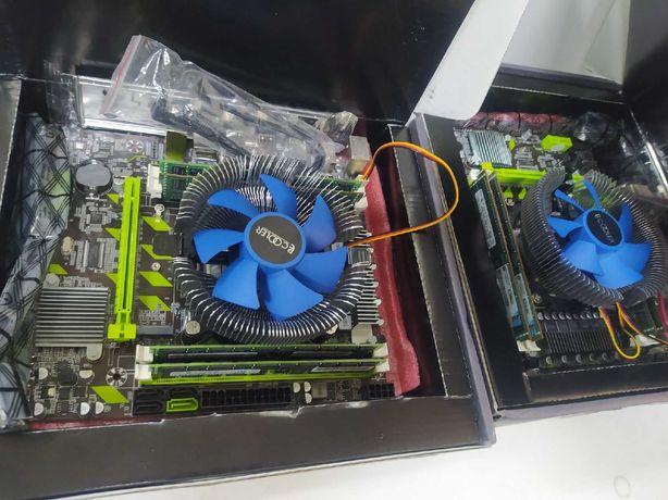 Комплект игрового компьютера intel 8ядер/16потоков, 16GB +МП от 9500