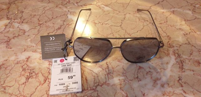 Okulary Reserved, Nowe.