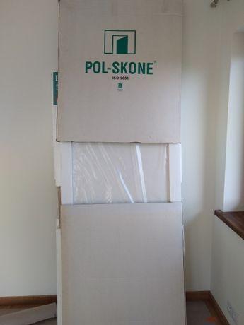 Drzwi tzw ukryte polskone białe