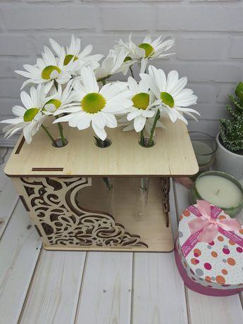 Подарочная подставка для цветов