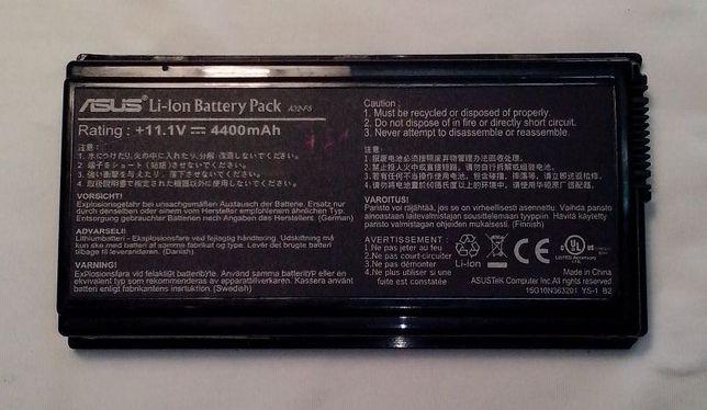 Bateria Asus F5-X50-X59, dura mais de 1h