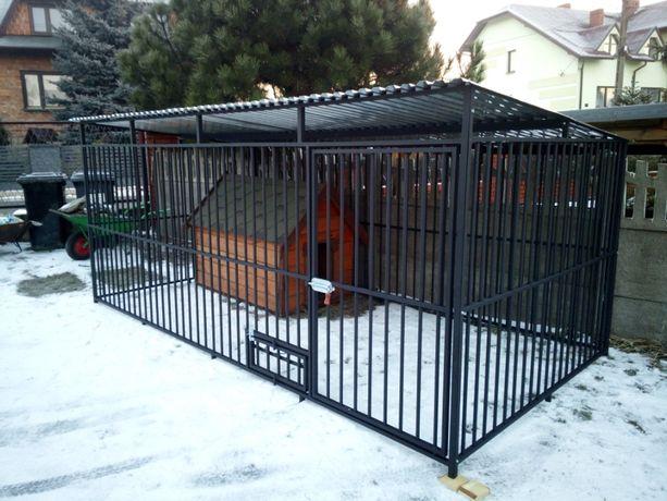 Kojec dla psa 4x2,duży boks mazowieckie