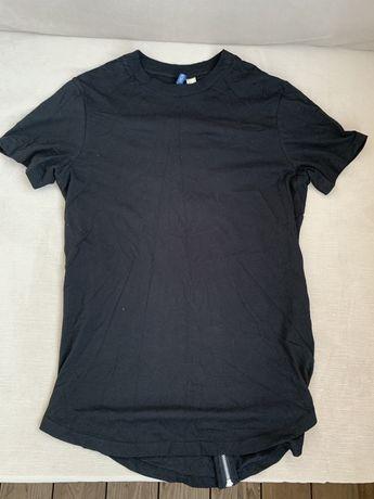 Черная футболка h&m М