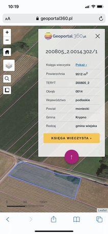 Ziemia rolna, 95 arow, Knyszyn.