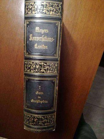 Meyers Konversations-Lexikon tom 7 z 1897r.