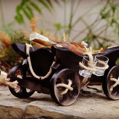 Віз деревяний сувенір мінібар подарунок до будь якого свята