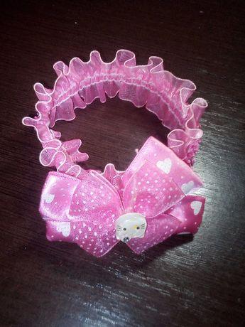 Резиночка повязочка на голову для девочки