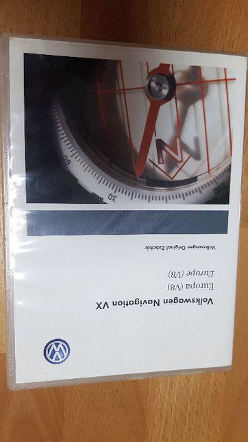 Płyta nawigacji DVD VW V8 Oryginał
