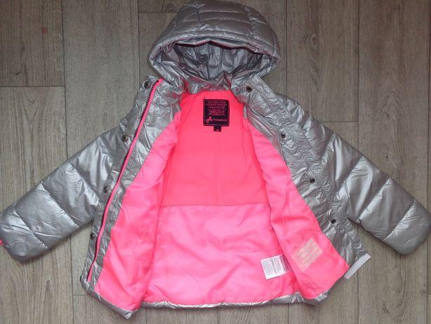 Демисезонная куртка Palomino, серебро, C&A, р.122, Германия, качество!