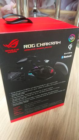 Mysz  ASUS ROG CHAKRAM  Gamingowa Nowa
