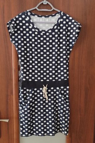 Sukienka w groszki M L