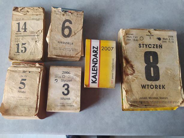 Kartki z kalendarza - 1989, 1993, 2003, 2006, 2007, 2008