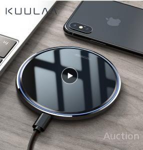 KUULAA 10 Вт Беспроводное зарядное устройство Qi