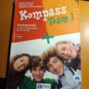 Kompass Team 1. Podręcznik do niemieckiego dla klas 7-8
