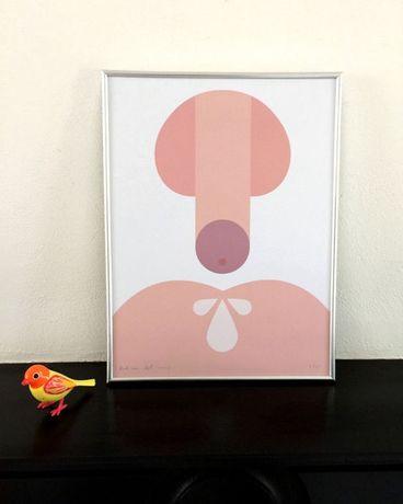 Art Print assinado pelo Designer Holandês Bob Van Dijk