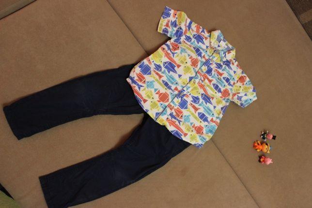 Комплект NEXT на 4 года (джинсы, рубашка)
