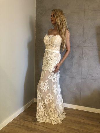 Suknia ślubna 36 38 !!nowa cena!!