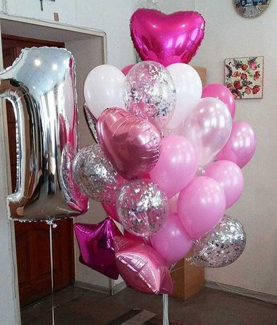 Гелієві шарики гелеєві кульки кульки з гелієм шаріки кульки балони.