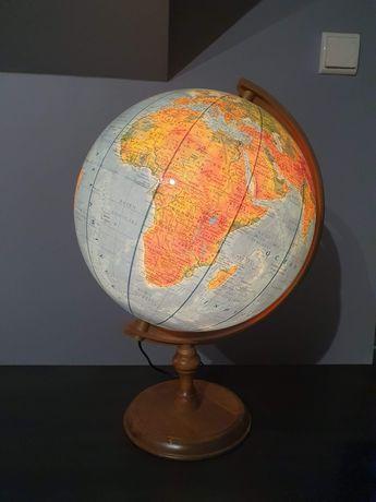 Globus podświetlany - lampka