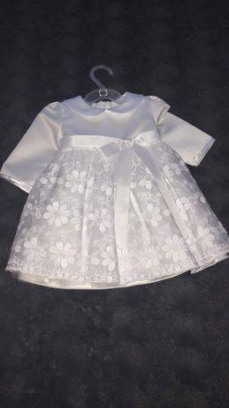 Sprzedam sukienkę na chrzest dla dziewczynki