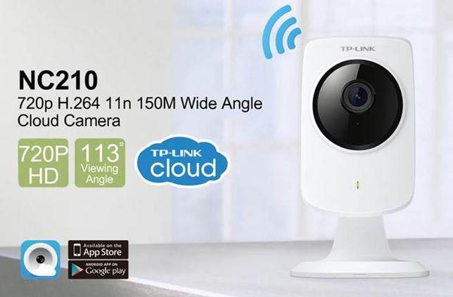 HD Câmara Segurança IP - TP-Link Cloud WiFi NC210 HD - NOVO!