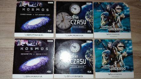 Filmy DVD dokumentalne Kosmos Maszyna czasu Odyseja rodzaju ludzkiego
