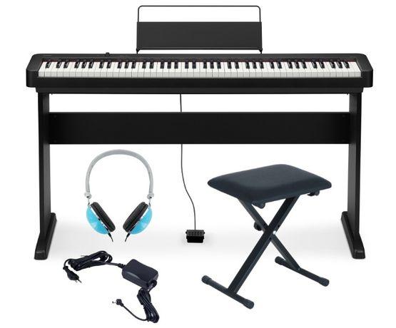 Pianino Casio CDP S100 BK Zestaw Komplet NOGI CS46