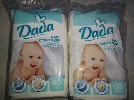 Platki kosmetyczne DADA 2 paczki, 1 paczka inne i wkladki laktacyjne