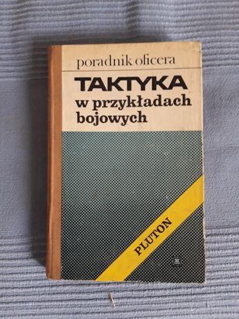 Książka Taktyka w przykładach bojowych Pluton PRL