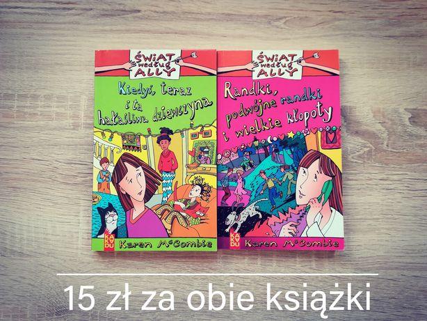 Książki dla dzieci - dziewczynka, książeczka, świat według Ally