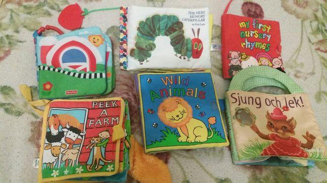 Фірмові книжки -розвивайки (мякі ) для діток.Фірми Мазекеа Брітіш стар