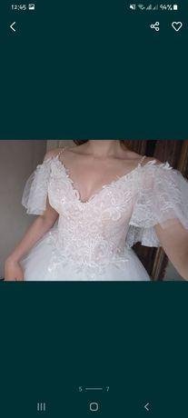 свадебное платье 2021