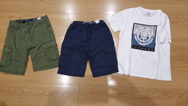 Pack 2 calções O'neil + tshirt  - 12 anos