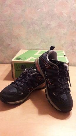 Кожаные трекинговые кроссовки