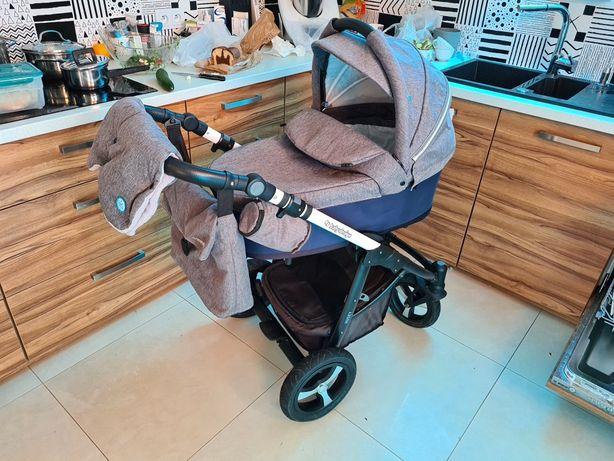 Wózek Baby Design HUSKY 3 w 1. Fotelik samochodowy. Cały komplet