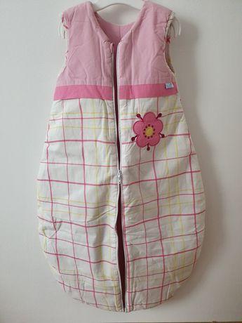 Śpiworek dla dziewczynki 80 cm