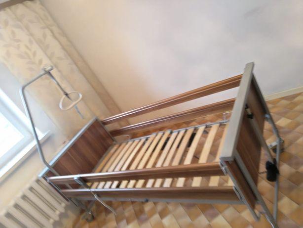 Łóżko rehabilitacyjne Fimy Bock elektryczne z pilotem Boc Domiflex
